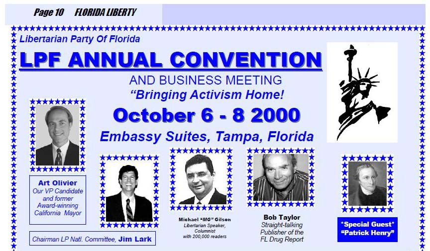 MG speaker at 2000 LPF Convention