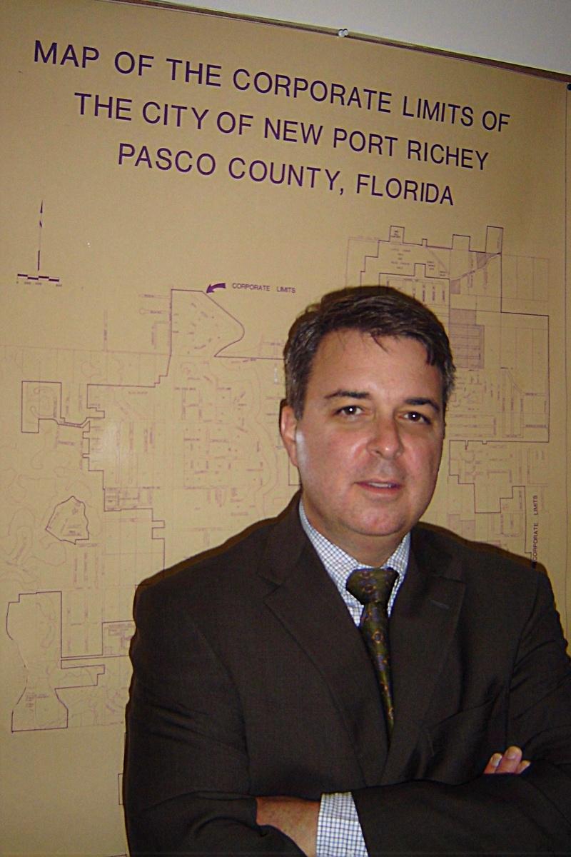 New Port Richey Libertarian Mayor, Scott McPherson